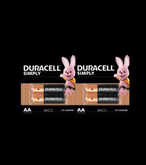 DURACELL AA Alkalne baterije